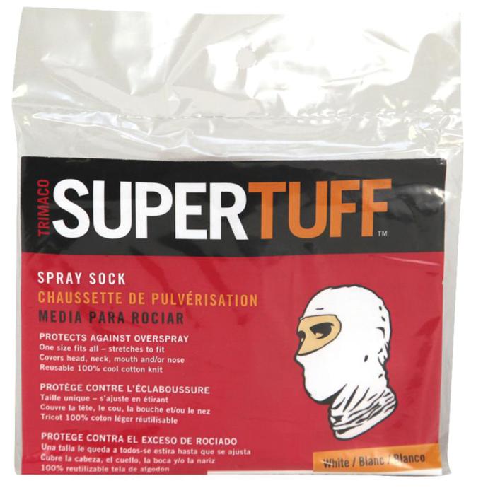 SuperTuff Spray Socks - White