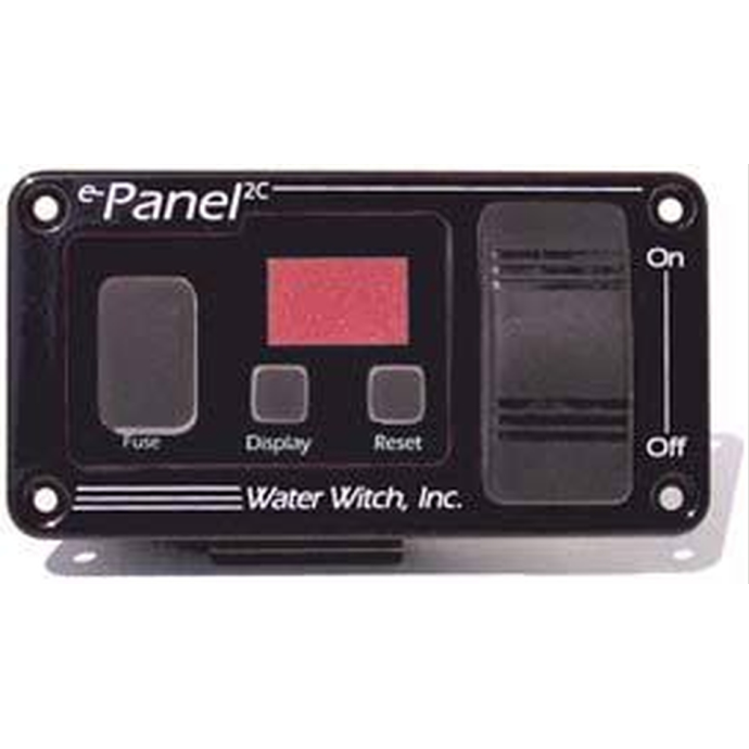 Water Witch e-Panel 2C Series - On/Off Bilge Pump Cycle Counter