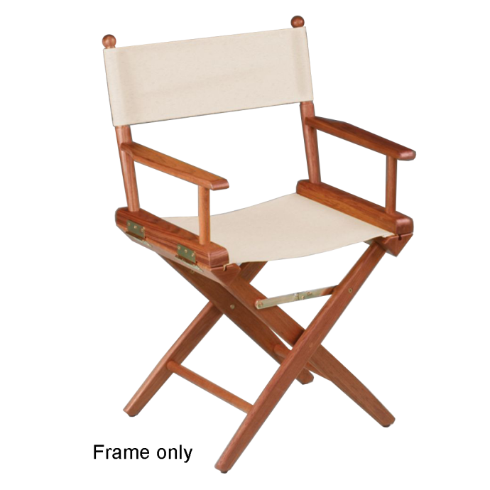 frame only of Whitecap Industries Teak Director's Chair - Frame Only