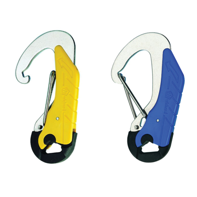 Double Action Tether Safety Hooks