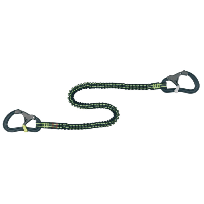 Wichard ProLine Tether - 2 Safety Snap Hooks, Elastic, 2 m