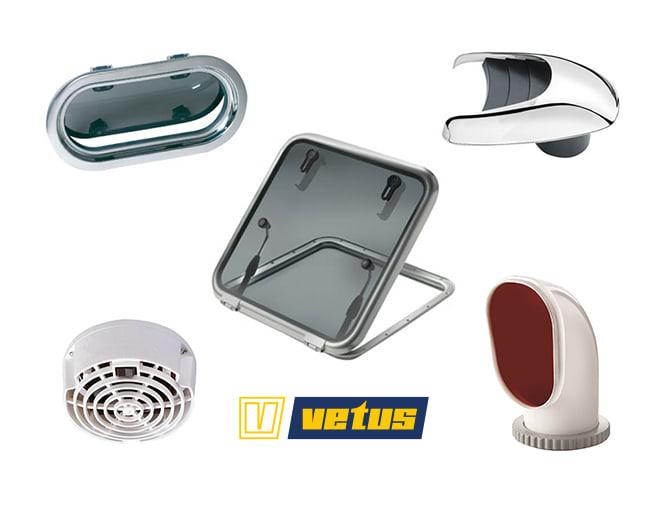 Vetus Portlights, Hatches & Ventilation Sale