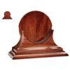 "Discontinued: Traditional Clock & Barometer Wood Display Base - 6"" Instruments"