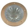 "Rabetted Round Melon Deck Prism Light - 7-3/4"" OD"