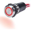 15A LED Ring Push Button Switch