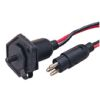 Trolling Motor Receptacle & Plug