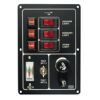 Switch⁄Fuse Panel w⁄Battery Tester & Horn Button or Lighter