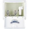 Sturdy ABS Shower Box with Hot and Cold Controls