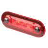 9510 LED Wide Courtesy Light - Red Lamp/Lens