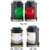 Figs. 1127-1130 - Navigation Lights w/Black Housing