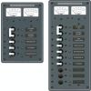 AC Main + Additional Positions Circuit Breaker Panel