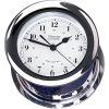 Atlantis Quartz Clock - Chrome