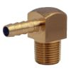 90 Degree Pipe to Hose Fuel Line Fittings