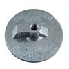 Mercury Outdrive Skegless Plate Anodes - Zinc