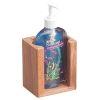 Teak Liquid Soap Holder
