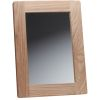 Rectangular Teak Frame Mirror