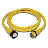 50 Amp 125V Power Cord Plus Cordsets - Yellow