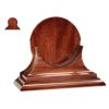 "Discontinued: Traditional Clock & Barometer Wood Display Base - 8-1/2"" Instruments"