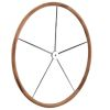 Teak Rimmed Dished Destroyer™ Wheel