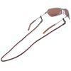 Braided Leather Sunglass Retainer
