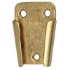 Fig. 0166 Plain Bronze Wall Plate - for Fog Bells