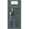 2 Sources Selector/AC Main + 6 Positions Circuit Breaker Panel