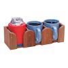 Three Mug Rack - Teak