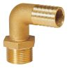 90 Degree Pipe to Hose Fittings - Brass