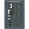 2 Sources Selector/AC Main + 4 Positions Circuit Breaker Panel