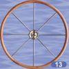 Type 13 Yacht Steering Wheel