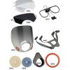 6000 Series Half- & Fullface Respirator Replacement Parts