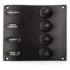 Four Toggle Switch Panel