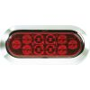 "LED Oval 6"" Stop, Tail, Turn Light"