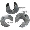 Mercury I/O Hydraulic Lift Arm Anodes - Zinc