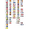 "International Code of Signals Flag Set  -12"" x 18"""