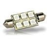 6 LED Festoon Bulb