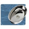 Oval Stainless Steel Sink