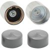 Trailer Wheel Bearing Protectors with Covers