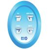Replacement Touch Pad Control Kit - for Deluxe Flush Toilet