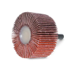 747D High Performance Cloth Flap Wheel - Type 83 Straight Shaft Spindle Mount