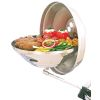 Marine Kettle Charcoal Grill with Hinged Lid - 15 in