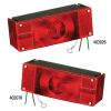 "Incandescent Submersible Low Profile Tail Lights - for Trailers Over 80"" Wide"