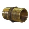 Hex Pipe Nipple - Cast Bronze