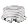 50 Amp 125/250V EEL ShorePower Cordsets - White