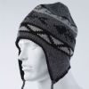 Discontinued: Gage Wool Blend Flap Cap - Gray