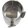 "Manual Flue Damper - 3"" Dia. Stainless Steel"