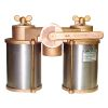 AVD Series Vertical Duplex Bronze Strainers - with Stainless Steel Enclosure