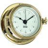 Endurance II 105 Quartz Clock - Brass with Arabic Numerals