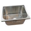Rectangle Sink - Brushed SS Finish, Without Studs