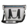 Discontinued: Hopper Two 30 Qt Soft-Sided Cooler - Gray & Blue